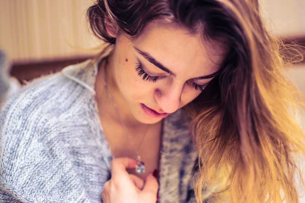 Woman coping with an emotionally abusive marriage