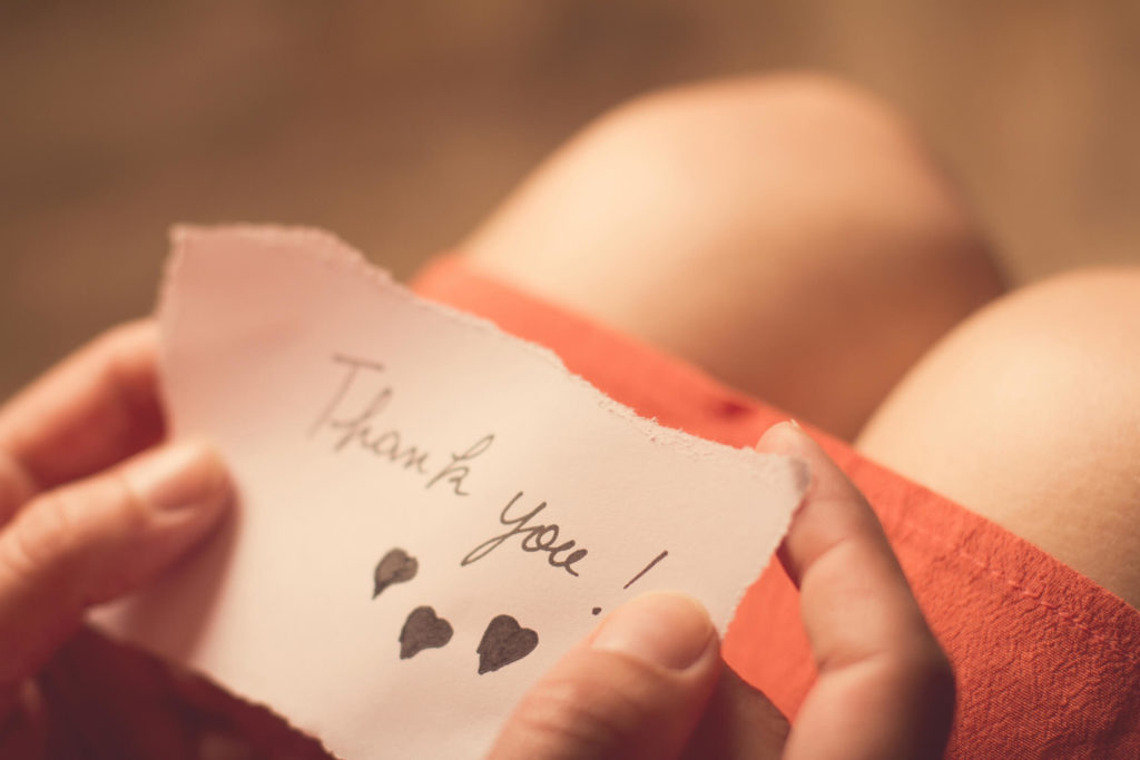 How to Show Thankfulness to Your Spouse