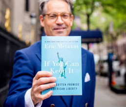 Eric Metaxas: A Few (Passionate) Thoughts on America!