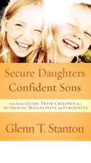 Secure Daughters Confident Sons book cover