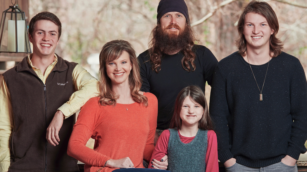 Jace and Missy Robertson family