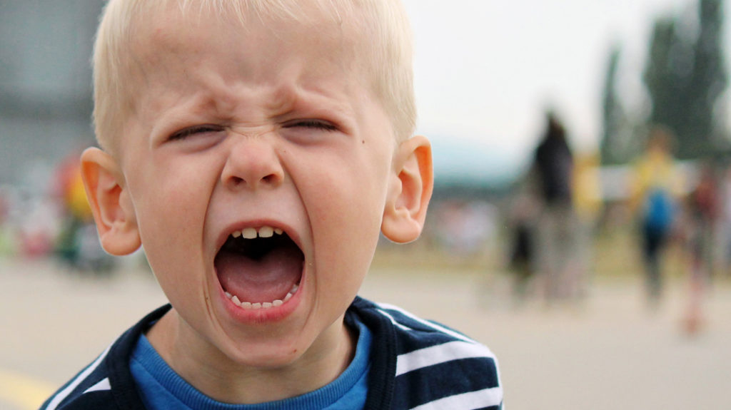 A child not handling his emotions - emotional milestones