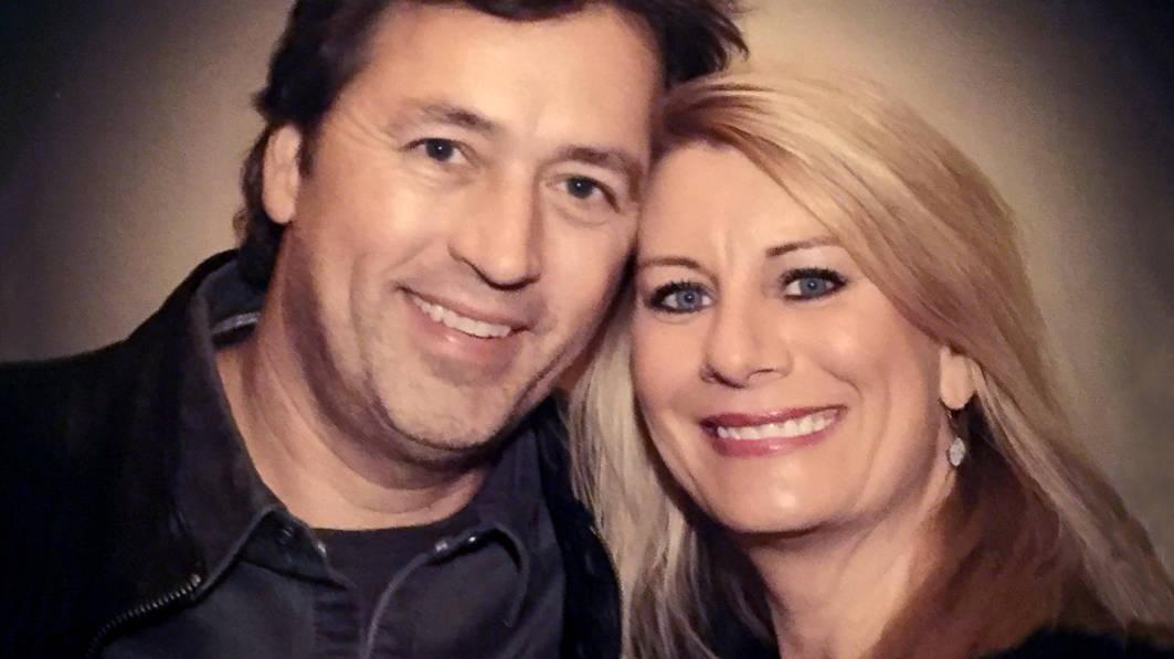 Portrait of Al and Lisa Robertson