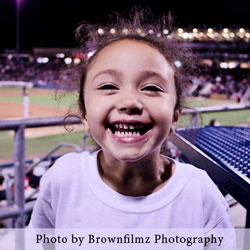 Picture of a little girl smiling