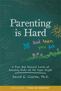 """Cover image of book """"Parenting is Hard and Then You Die"""""""
