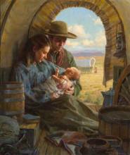Morgan Weistling's painting