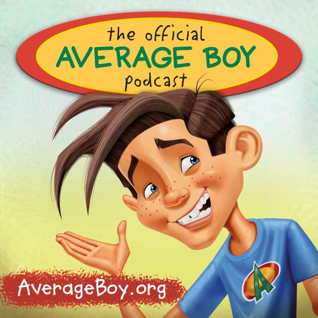 Average Boy Podcast Art