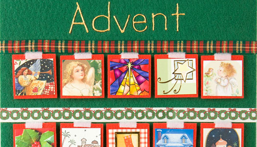 Picture of an advent calendar