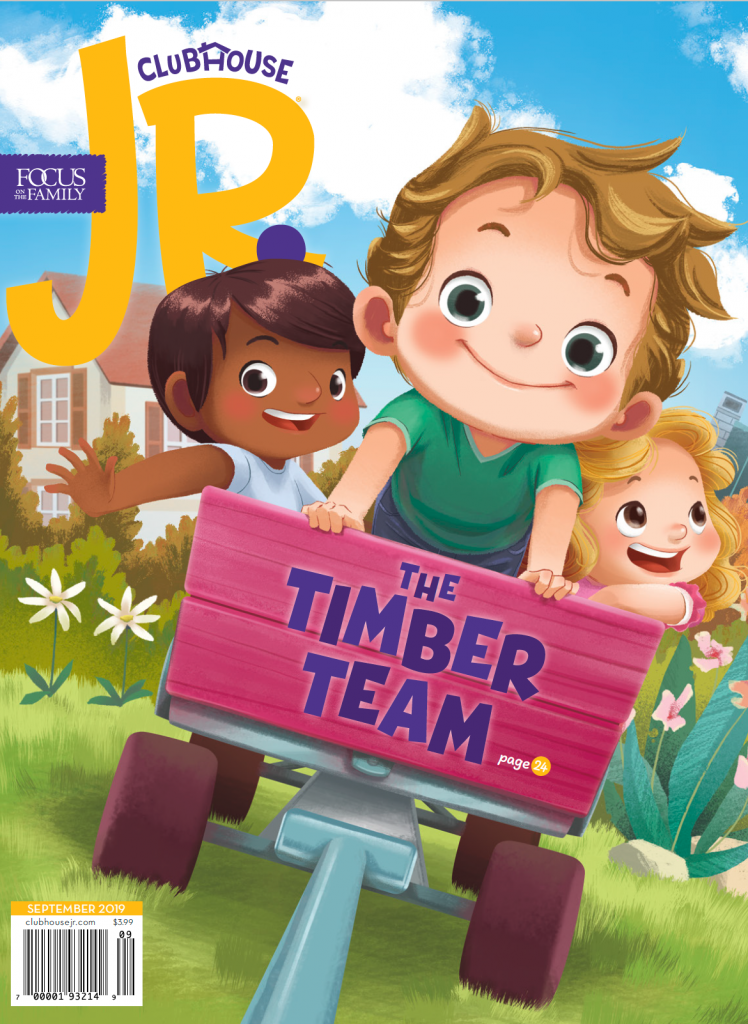 Clubhouse Magazine Jr. Cover
