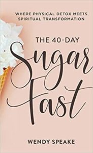 """Cover image of the book """"The 40-Day Sugar Fast"""""""