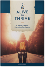 Alive to Thrive Teen Suicide Prevention Book