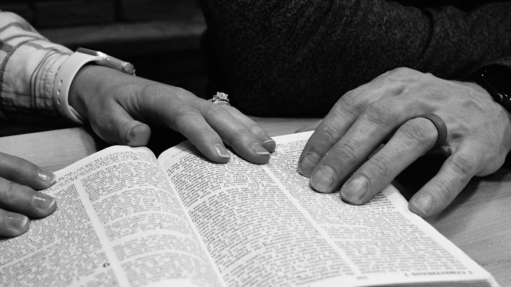 lent-finger-pointing-to-bible