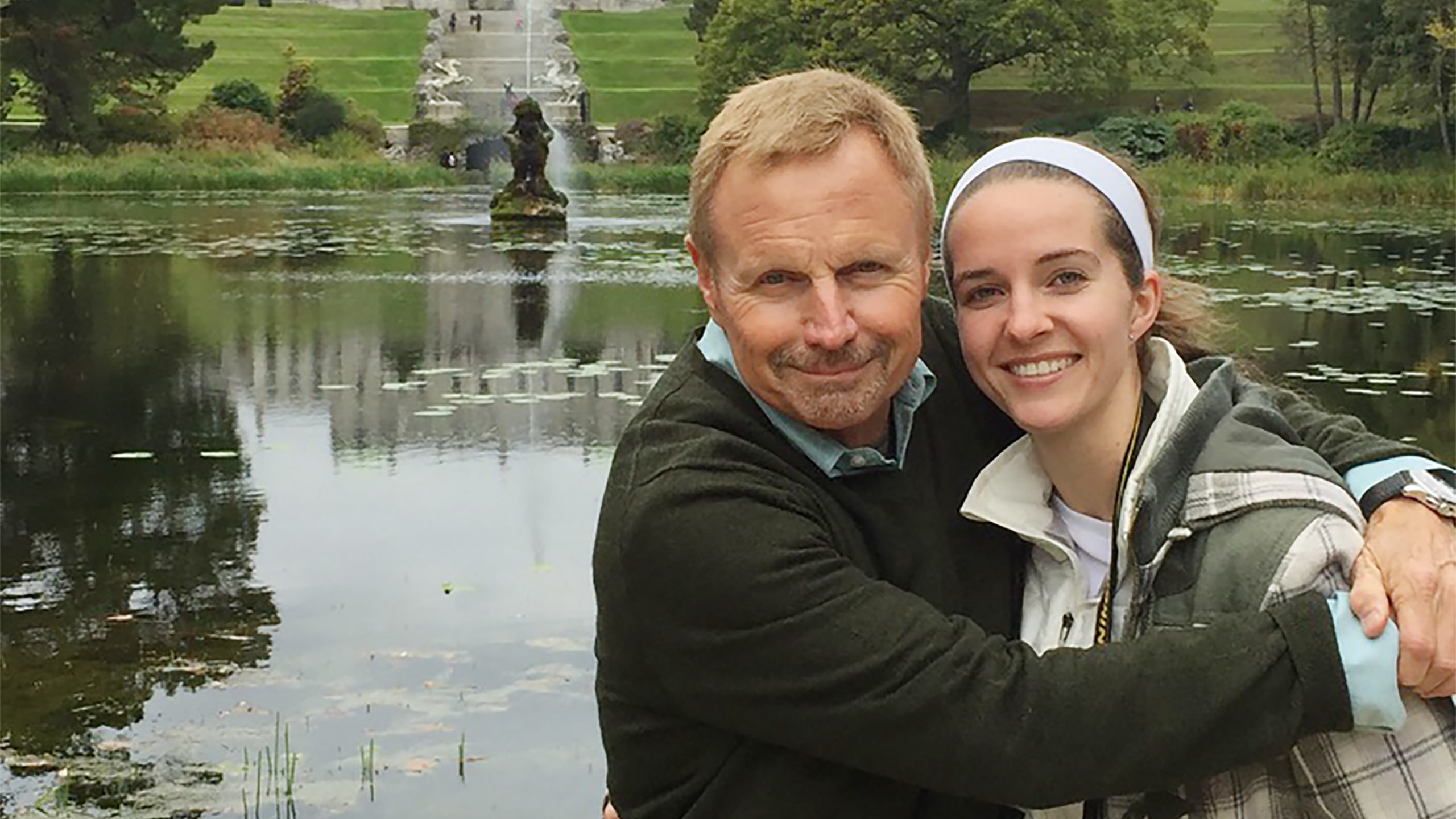 Stephen Arterburn with his daughter, Madeline