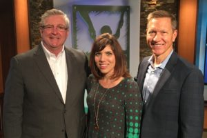 Melissa Ohden with Jim Daly & John Fuller