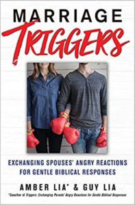 """Cover image of the book """"Marriage Triggers"""" by Guy and Amber Lia"""