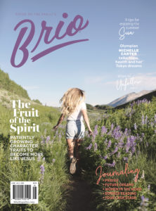 Brio Magazine June July cover