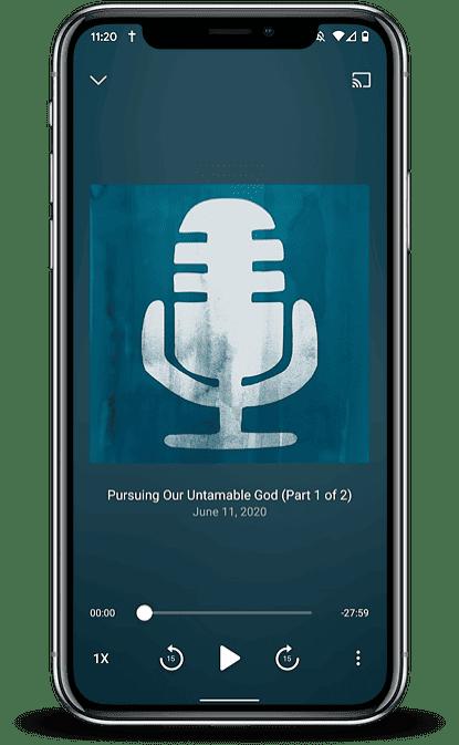 Broadcast App Mockup