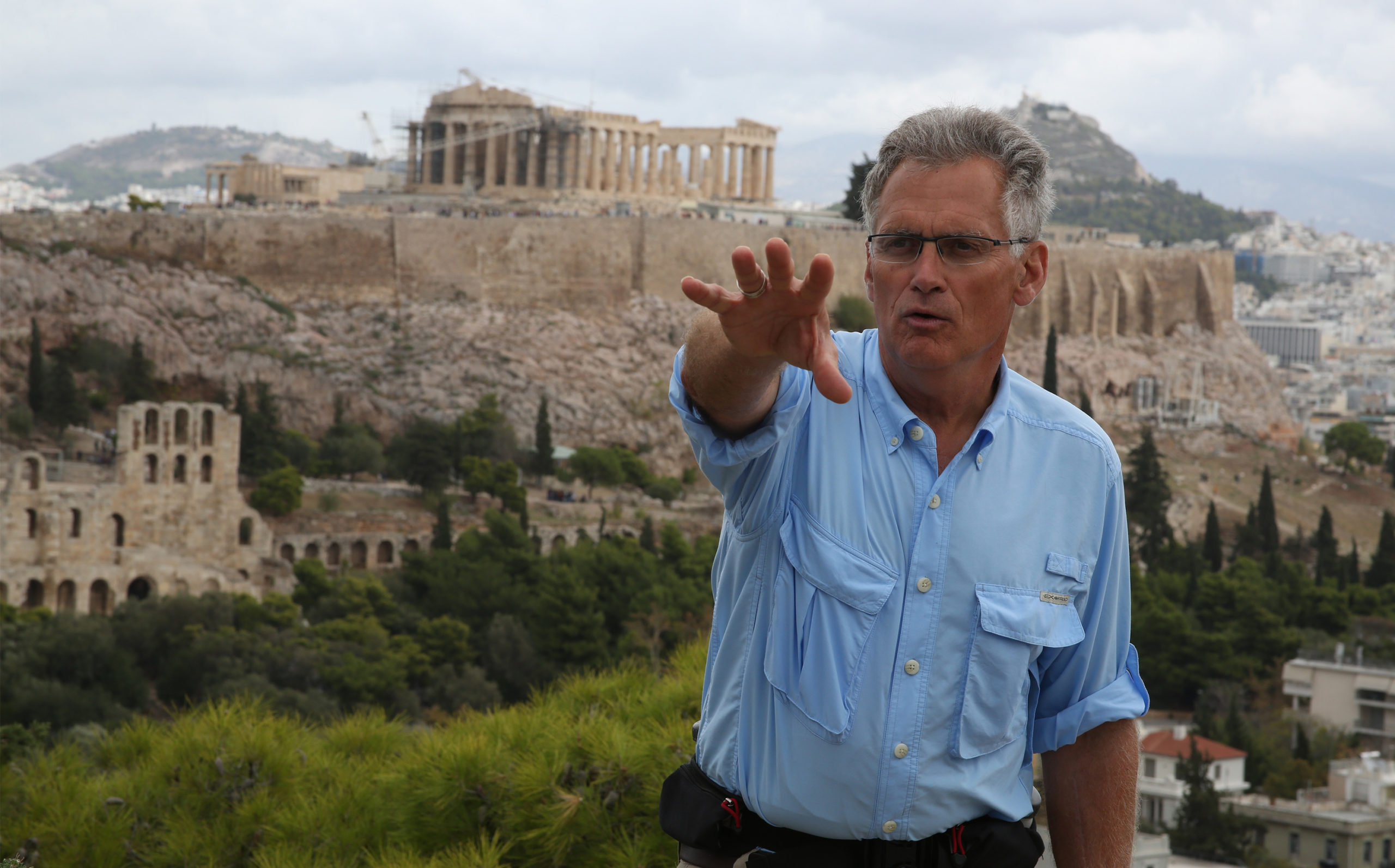 Bringing the Bible to life, Ray Vander Laan leads a tour in the Middle East
