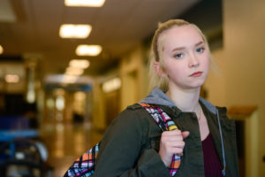 teen girl in foster care