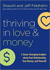 """Cover image of the book """"Thriving in Love & Money"""""""