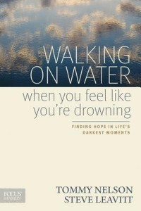 """Cover image of the book """"Walking on Water When You Feel Like You're Drowning"""""""