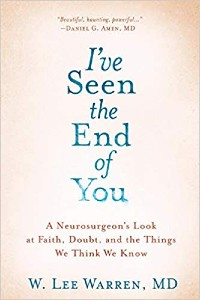 """Cover image of Dr. Lee Warren's book """"I've Seen the End of You"""""""