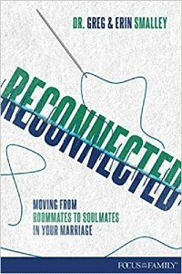 """Cover image of the book """"Reconnected: Moving From Roommates to Soulmates in Your Marriage"""""""