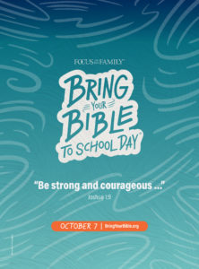 bring your Bible poster